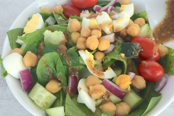 Potbelly's Chickpea Veggie Salad
