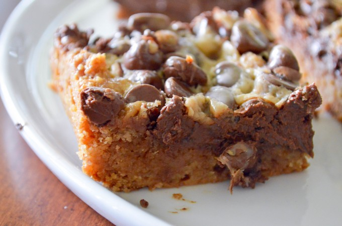 Nutella Crunch Bars