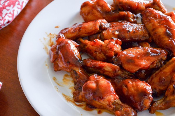 Baked Honey Barbecue Wings