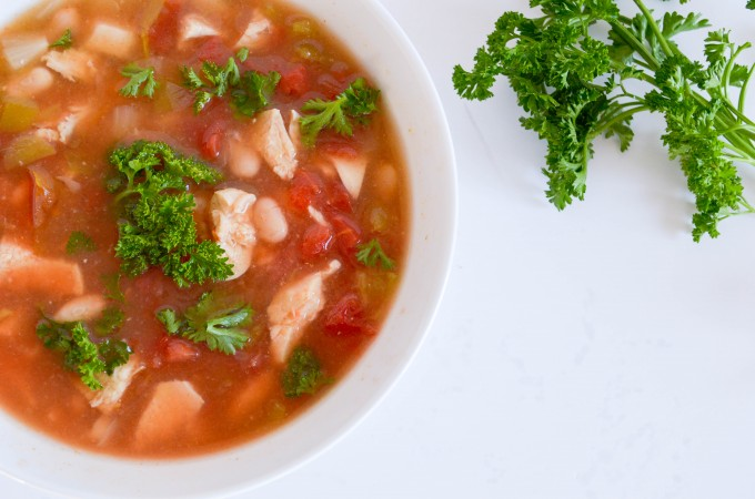Smoky White Bean Chicken Chili