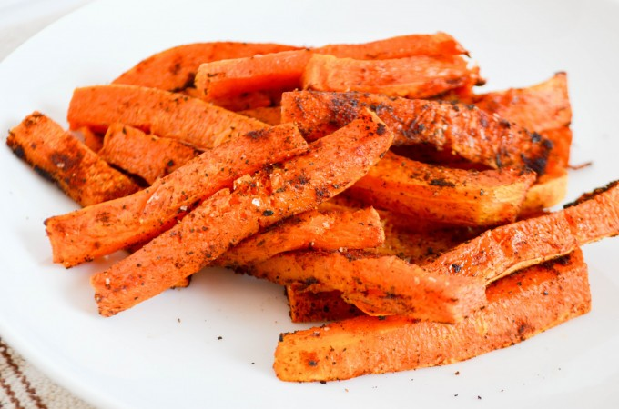 Smoky Butternut Squash Fries