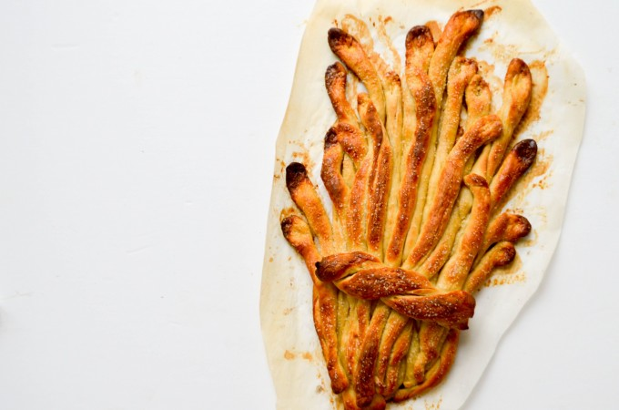 Thanksgiving Sheaf Bread